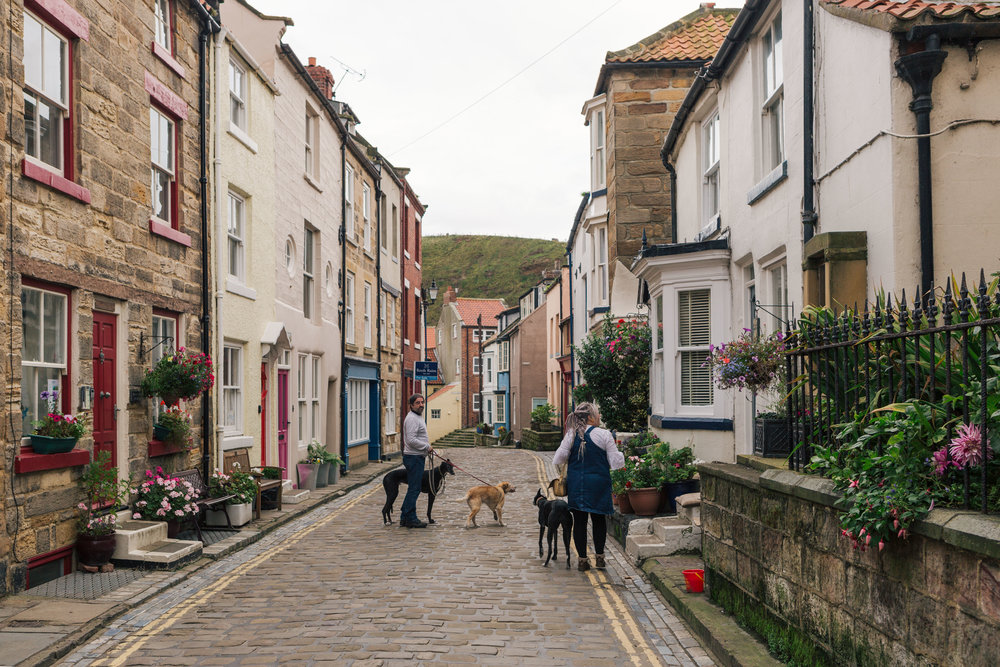 Staithes street view