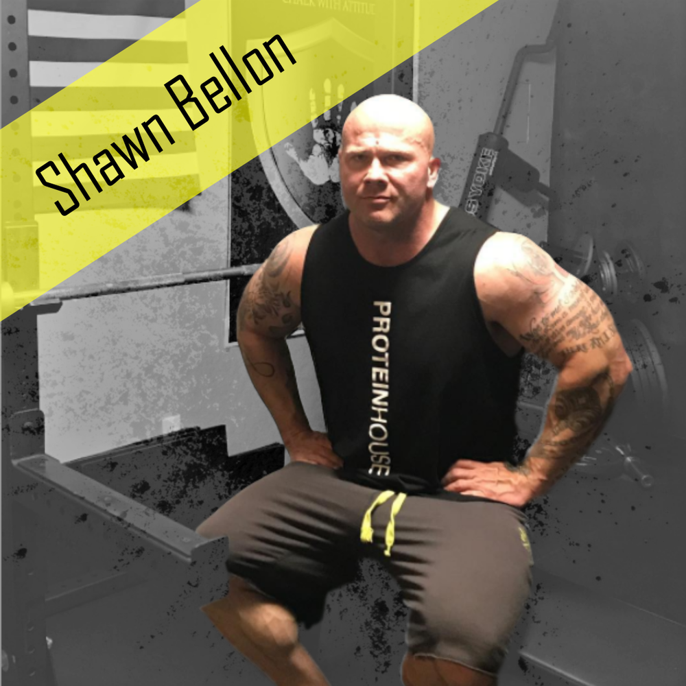 Shawn Bellon Powerlifter