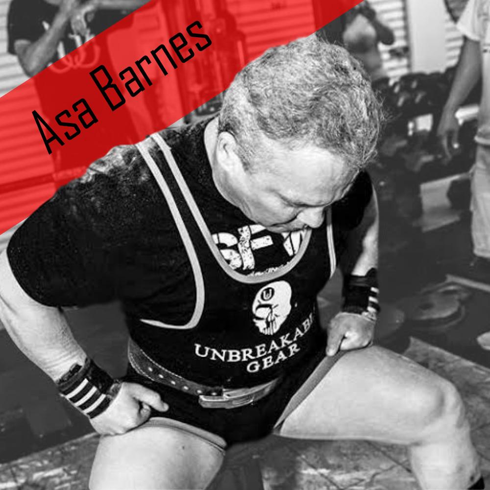 Asa Barnes Powerlifter