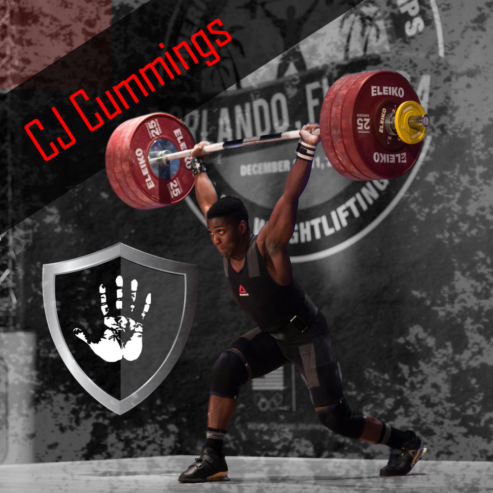CJ Cummings Weightlifter