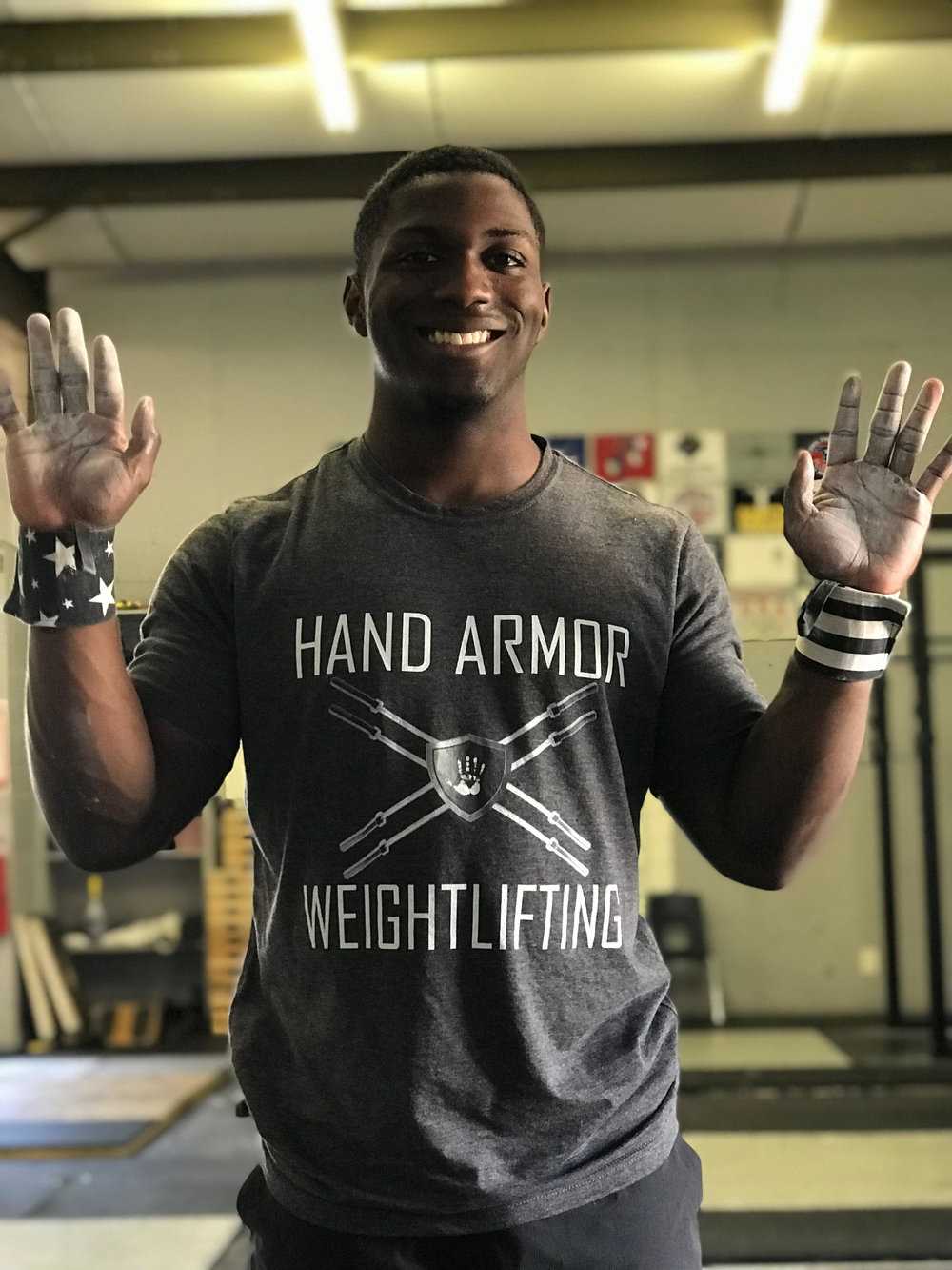 CJ Cummings Hand Armor Chalk Athlete