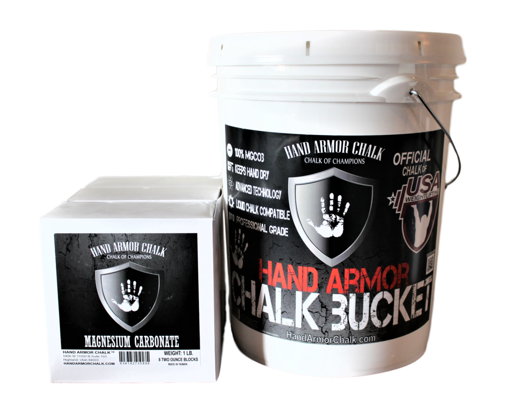 Hand Armor 5 Gallon Chalk Bucket (with 3 lbs of chalk)