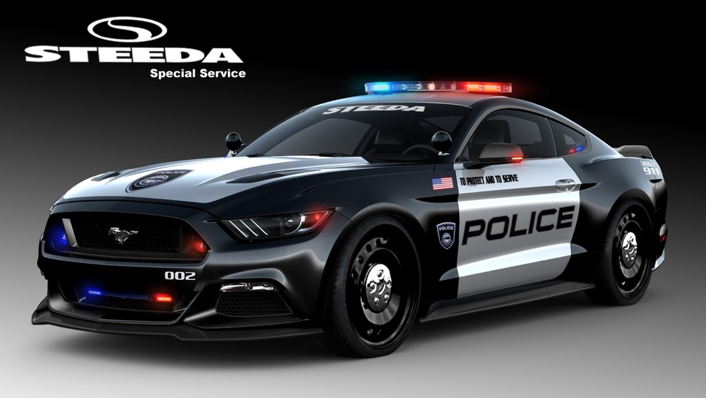 2016 Steeda Police Pursuit Mustang  - Copyright © 2016 Steeda Autosports, Inc. All Rights Reserved - Unauthorized duplication prohibited