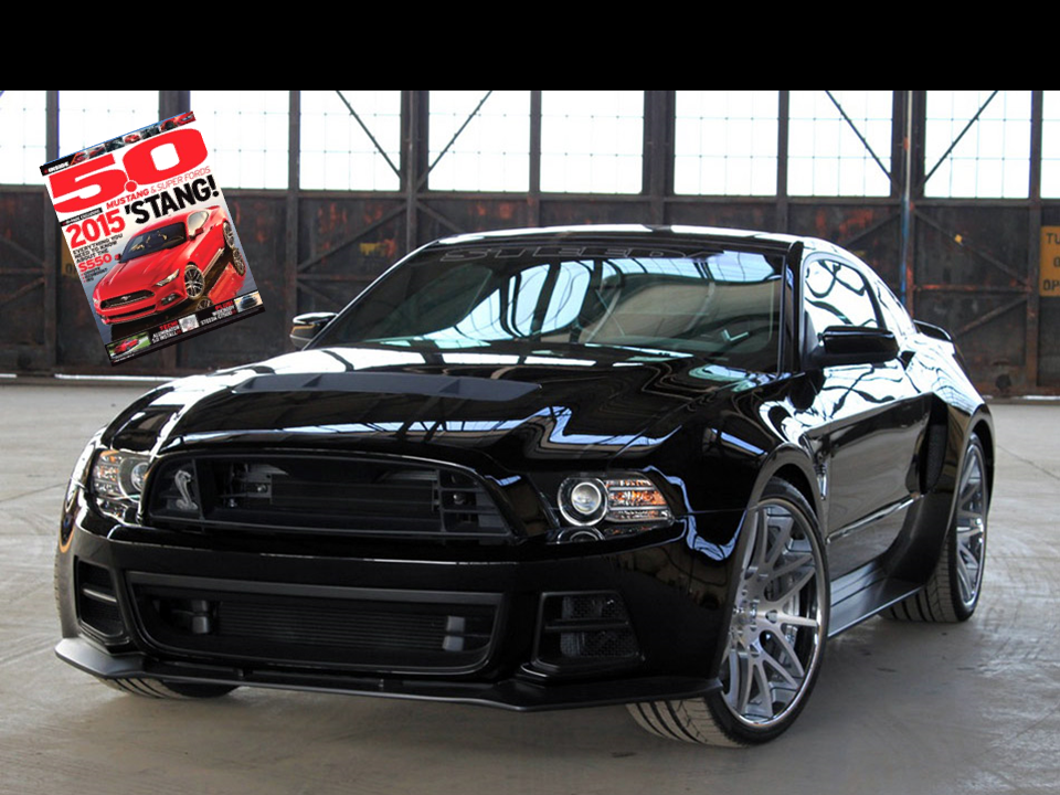 Steeda Boss GT 500 - Featured in 5.0 Magazine - Click Image to Learn More