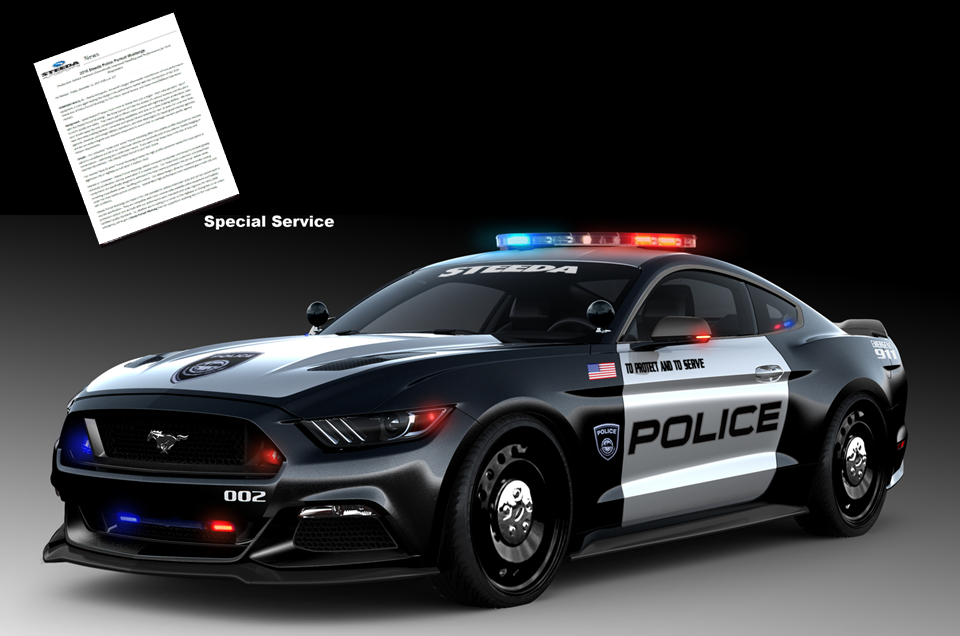 Steeda Introduces New 2016 Police Pursuit Mustangs - Click Image to Learn More