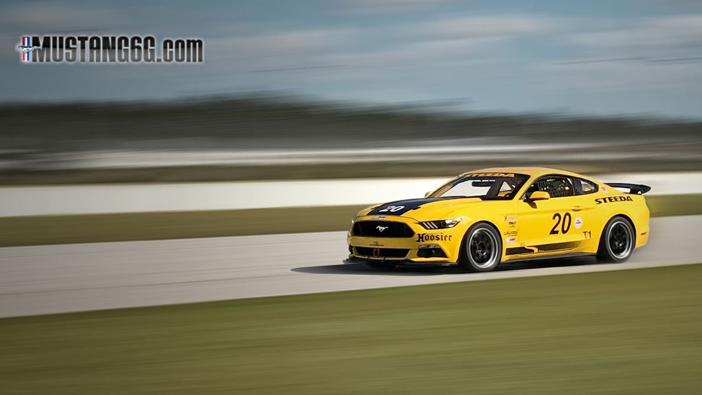 Not So Mellow 2016 Steeda Q500R Ford Mustang Racer in Yellow