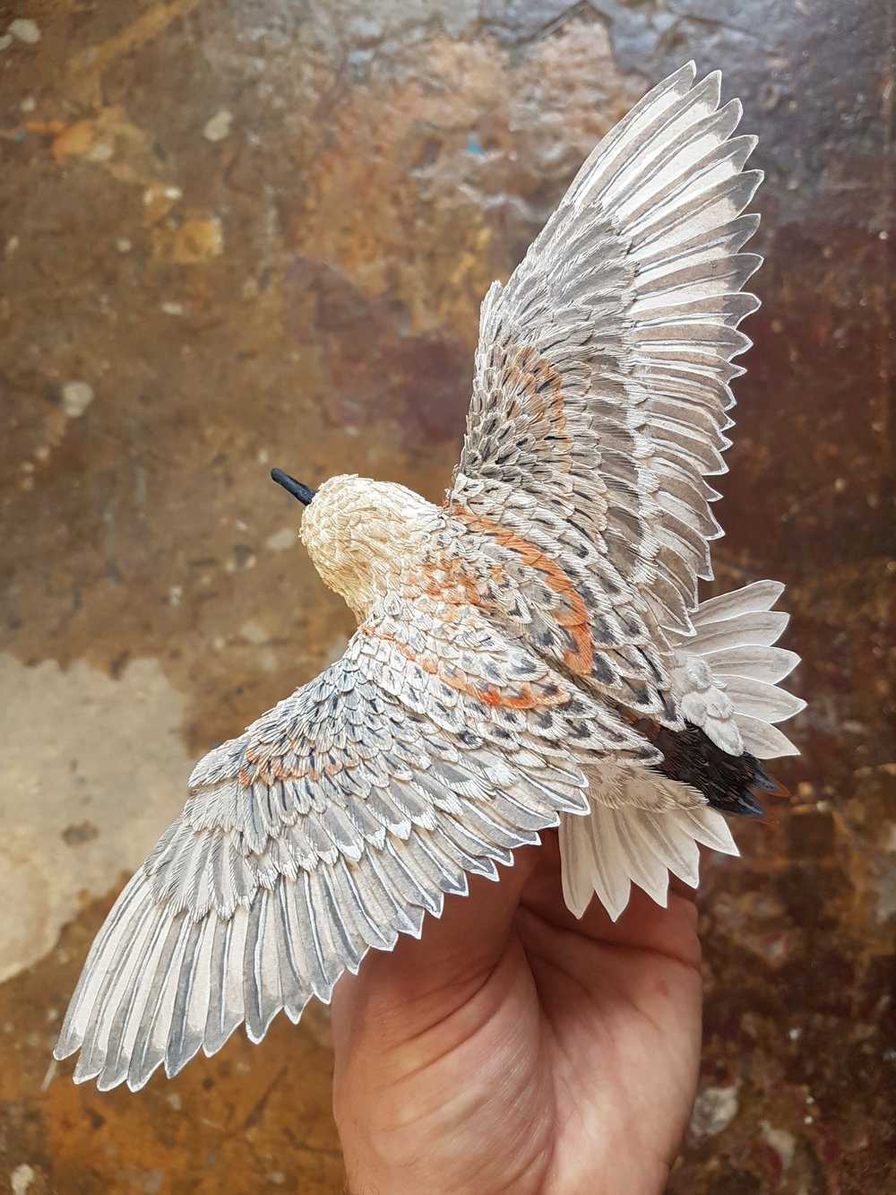 PAPER BIRD SCULPTURES WITH ZACK MCLAUGHLIN   Join visiting artist Zack Mclaughlin of Paper & Wood Co. for workshops to learn to build his intricate paper bird sculptures. No experience needed!  Register and pay for these workshops here.