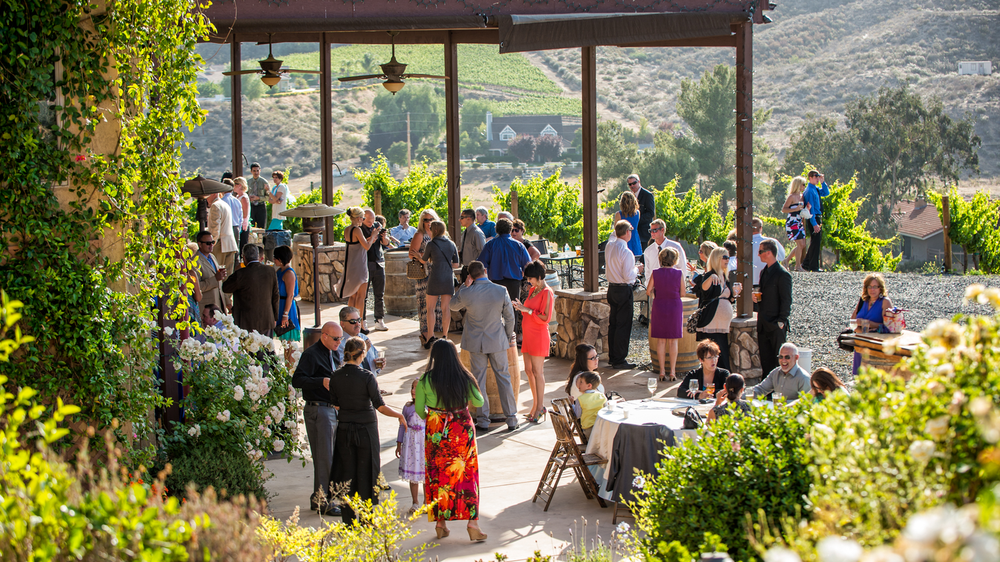 temecula wedding venues cocktail hour