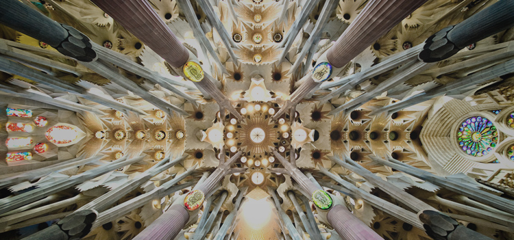 Past 03.09.16 Tristram Carfrae: Sagrada Familia #architecture #engineering #design