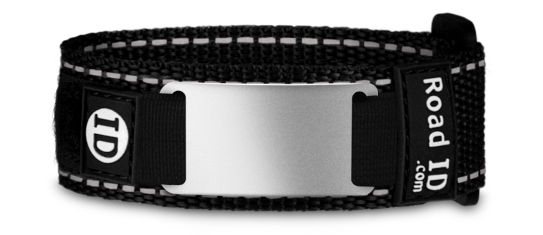 ROAD ID  If you are a runner, cyclist, triathlete or just an active person, Road ID is for you. In the event of an accident, if you can't speak for yourself, your Road ID will. It's not just a piece of gear - it's peace of mind. Click HERE to order any of the great wrist, ankle, or shoe bands, and other high visibility gear.