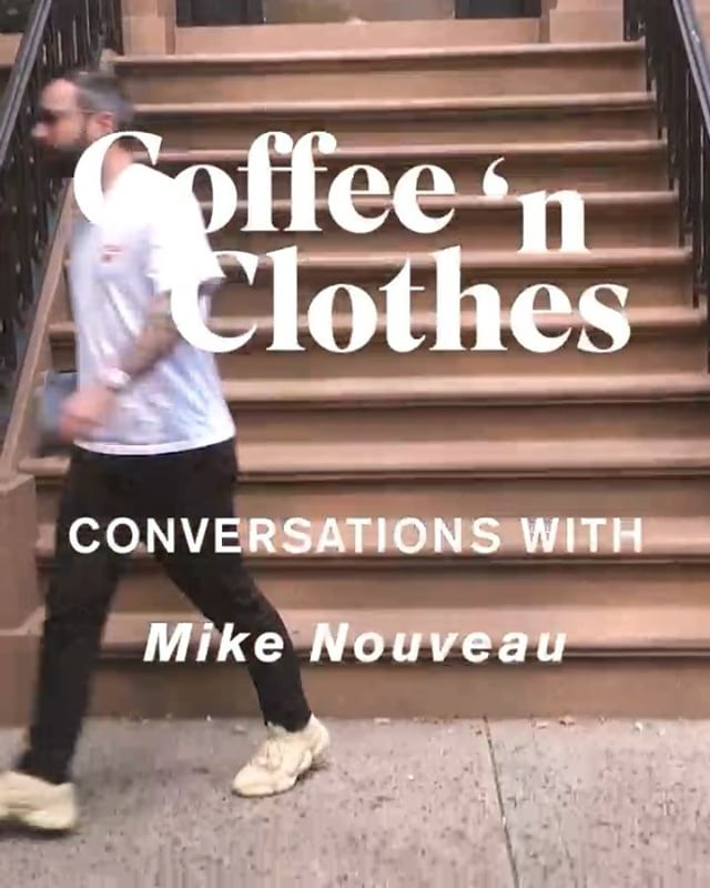 Curious about my daily routine of doing nothing and bumming around the East Village all day? Well the guys at @coffeenclothes were, so they followed me around one afternoon and made this video all about it! Check it out! ☕️