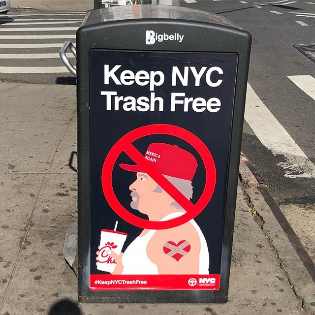 Keep America out of New York.