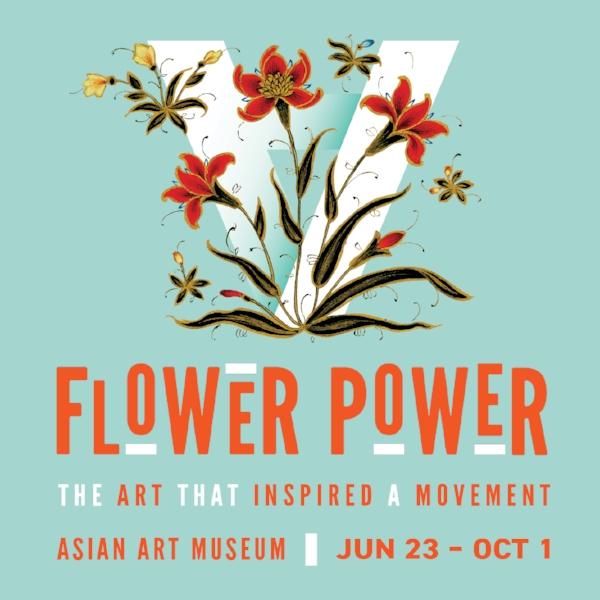Flower Power At The Asian Art Museum Tiffanie Turner Papel Sf