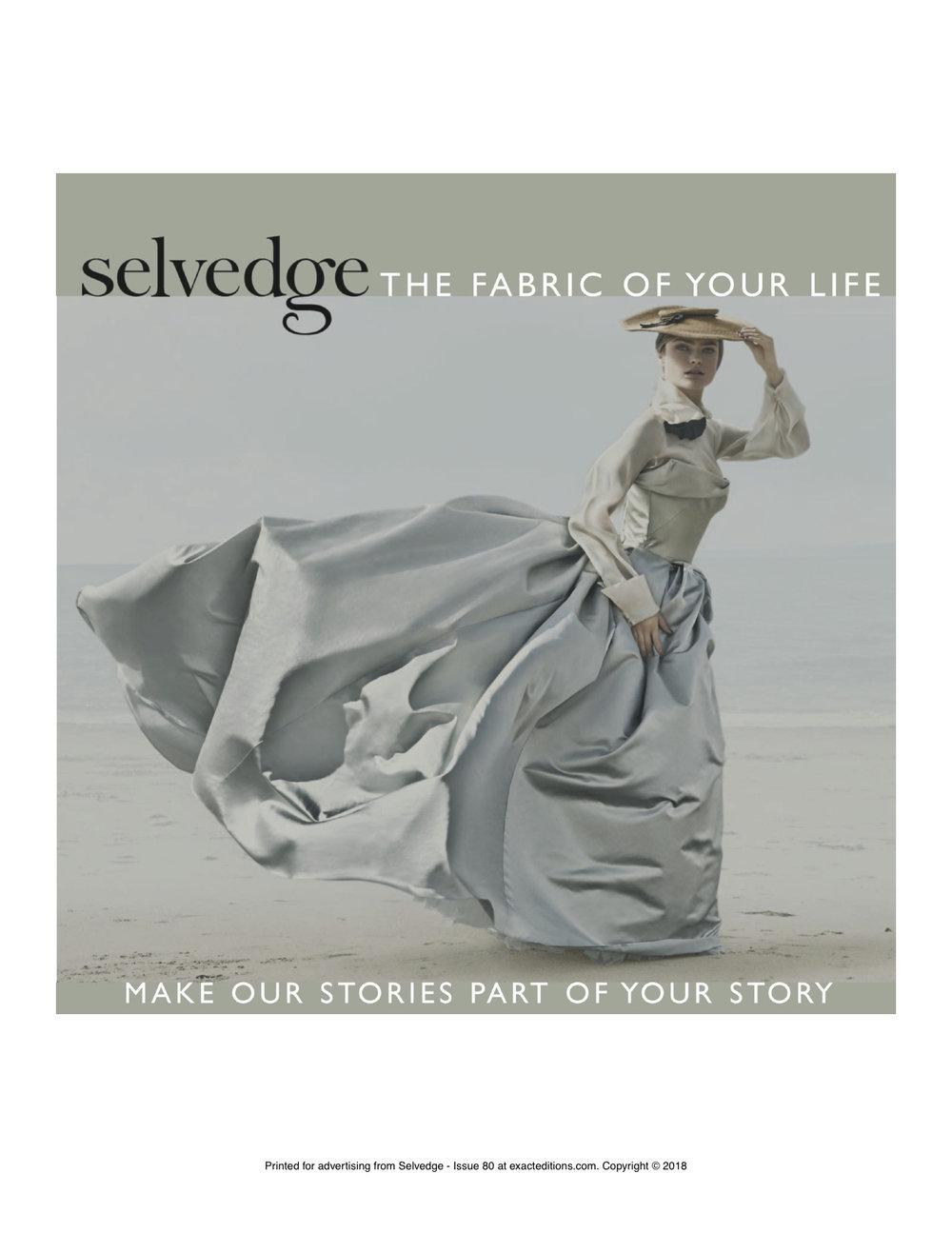 Selvedge front cover (Fine Art of Paper Flowers).jpg