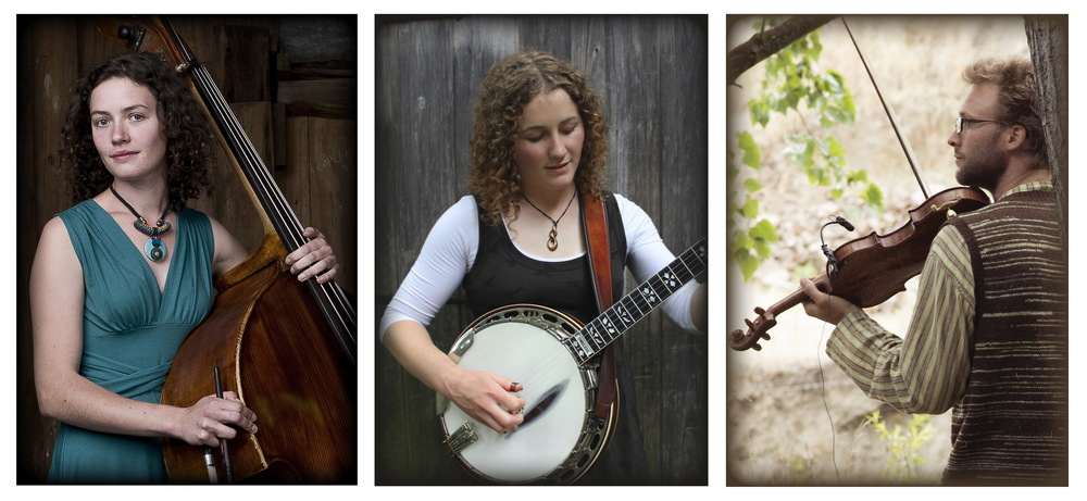 The String Contingent: Holly Downes, Catherine 'BB' Bowness and  Chris Stone.