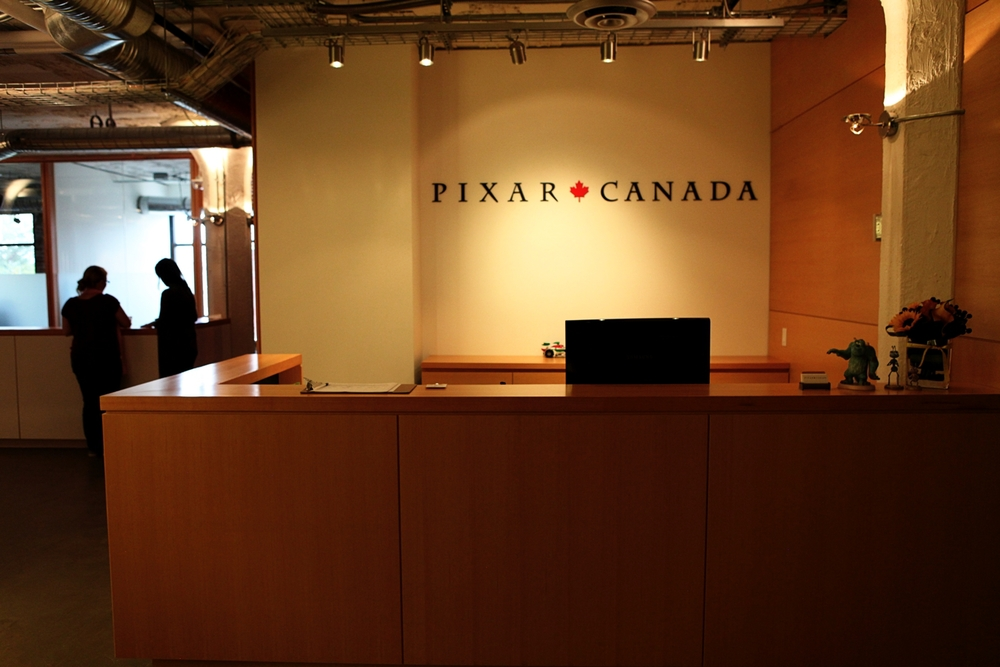 Pixar Canada, as seen on October 12, 2011 in Vancouver, British Columbia, Canada and will provide animation to support Pixar Animation Studios franchises such as Toy Story and Cars. (Photo by Deborah Coleman / Pixar). Used with permission. All rights reserved.