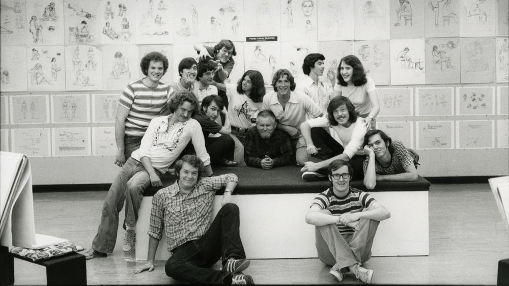 The 1975 graduating class of Cal Arts included the future stars of theanimation business like John Lasseter, Brad Bird and John Musker. From WAKING SLEEPING BEAUTY directed by Don Hahn, produced by Peter Schneider and Don Hahn. © Disney Enterprises.