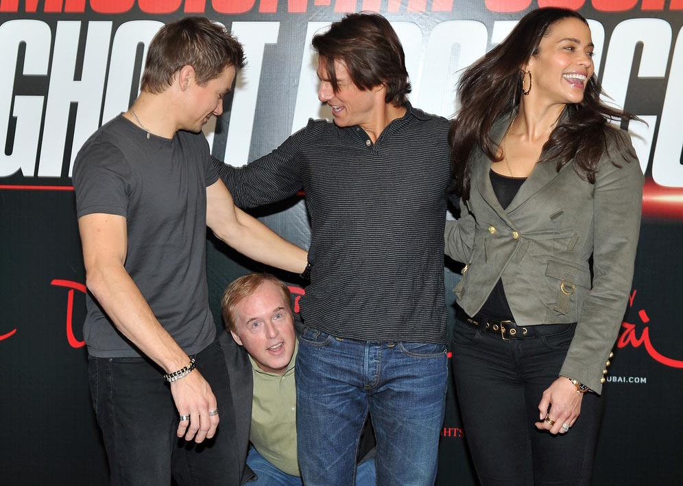 Brad Bird with Jeremy Renner (left), Tom Cruise and Paula Patton. Photo courtesy Cartoon Brew. Author David Price speculates that Brad will never come back to animation. What do you think?