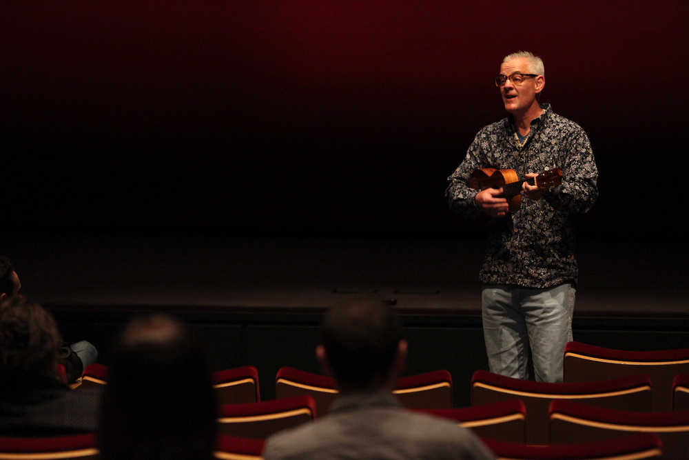 Pixar short film LAVA Director Jim Murphy, on March 31, 2015 at Pixar Animation Studios in Emeryville, Calif. (Photo by Deborah Coleman / Pixar)