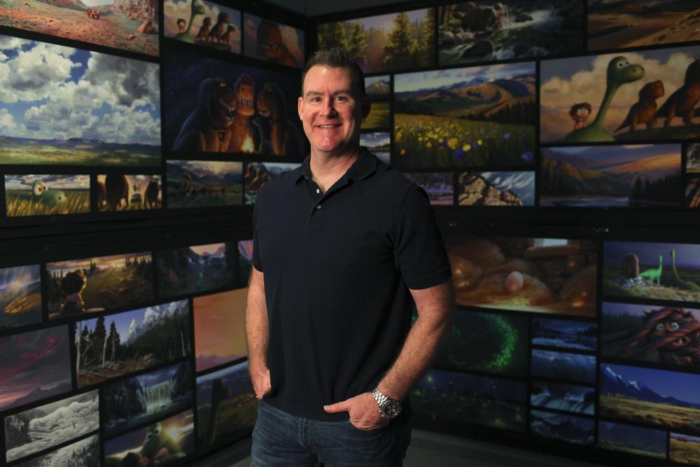 Kevin O'Hara on August 5, 2015 at Pixar Animation Studios in Emeryville, Calif. (Photo by Deborah Coleman / Pixar)