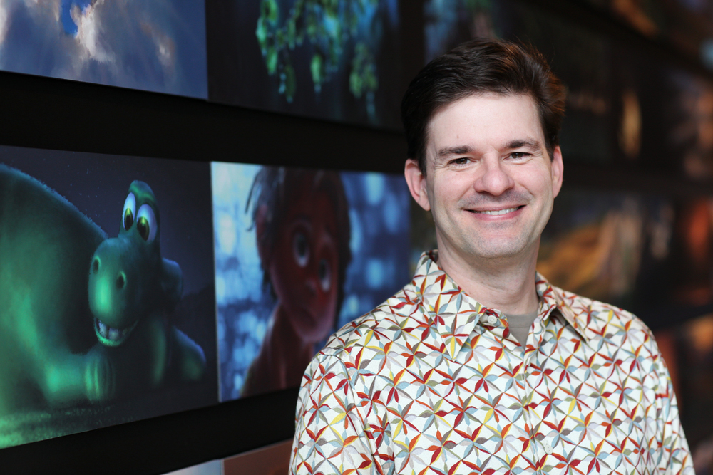 David Munier is photographed on September 16, 2015 at Pixar Animation Studios in Emeryville, Calif. (Photo by Deborah Coleman / Pixar)