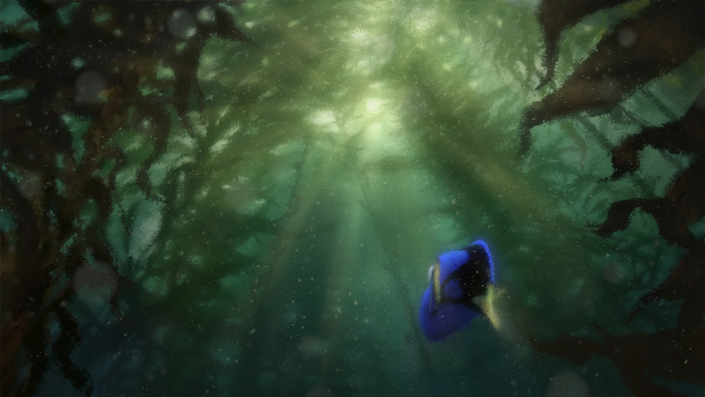 Concept art for Finding Dory.