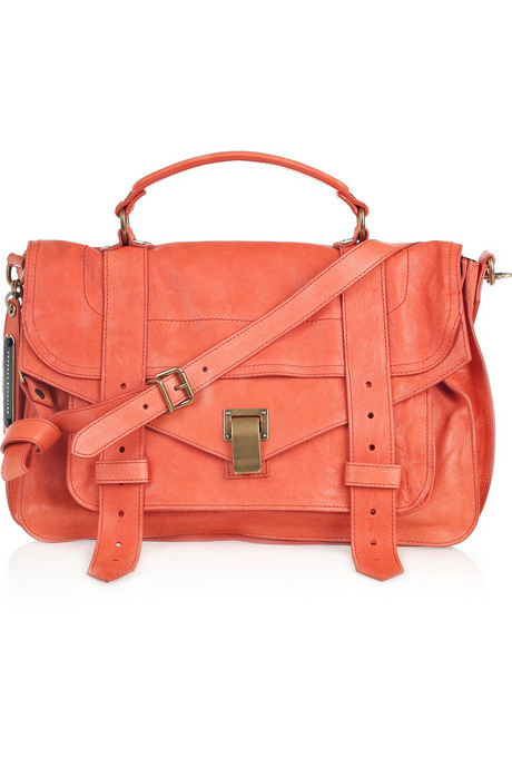 Proenza-Schouler-PS1-Medium-leather-satchel