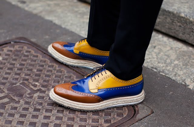 prada autumn winter mounted brogue