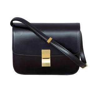 Celine Black Box Bag