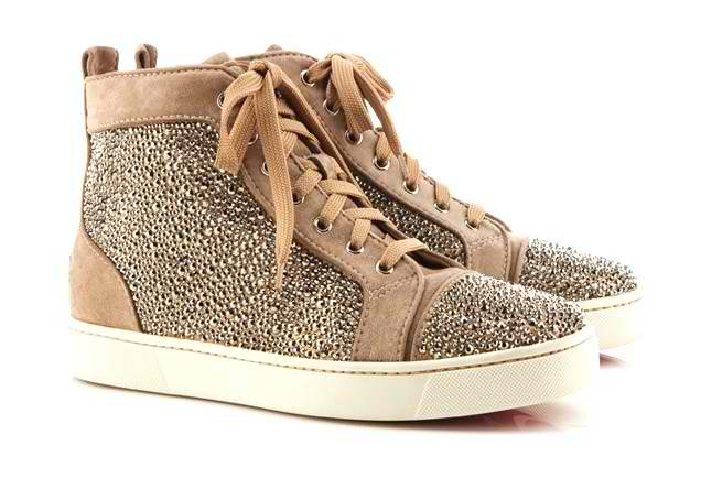 Louis Suede with Strass