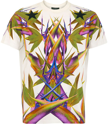 Givenchy Birds of Paradise T Shirt