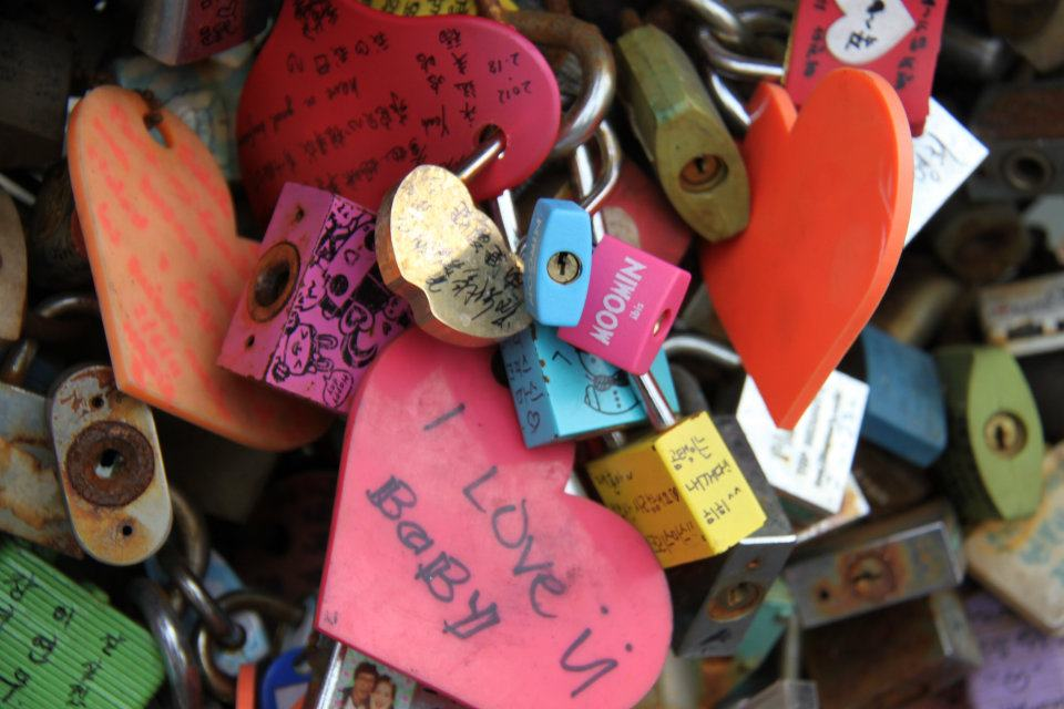 Namsan Seoul Tower Love Locks