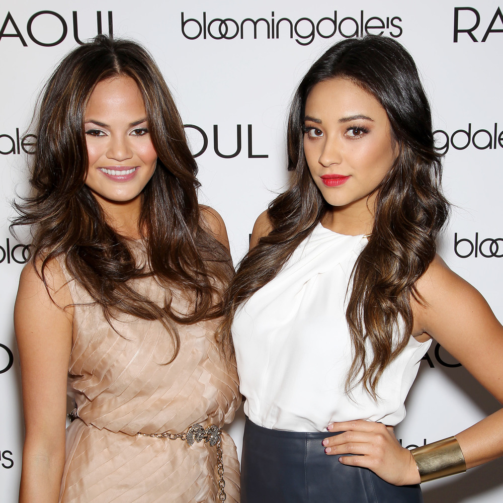 "Chrissy Teigen & Shay Mitchell Host the Launch of ""RAOUL"" at Bloomingdale's in New York"