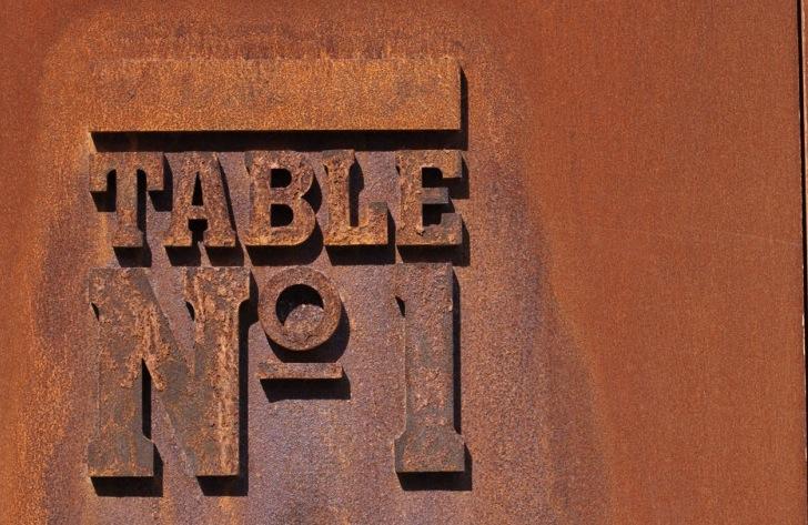 Table No. 1