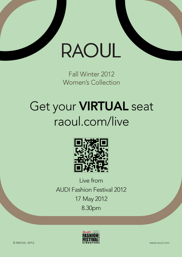 Raoul Audi Fashion Festival Live Streaming