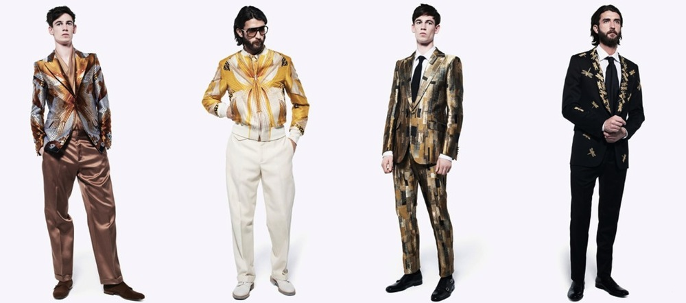 McQueen Spring Summer 2013 Menswear Highlights