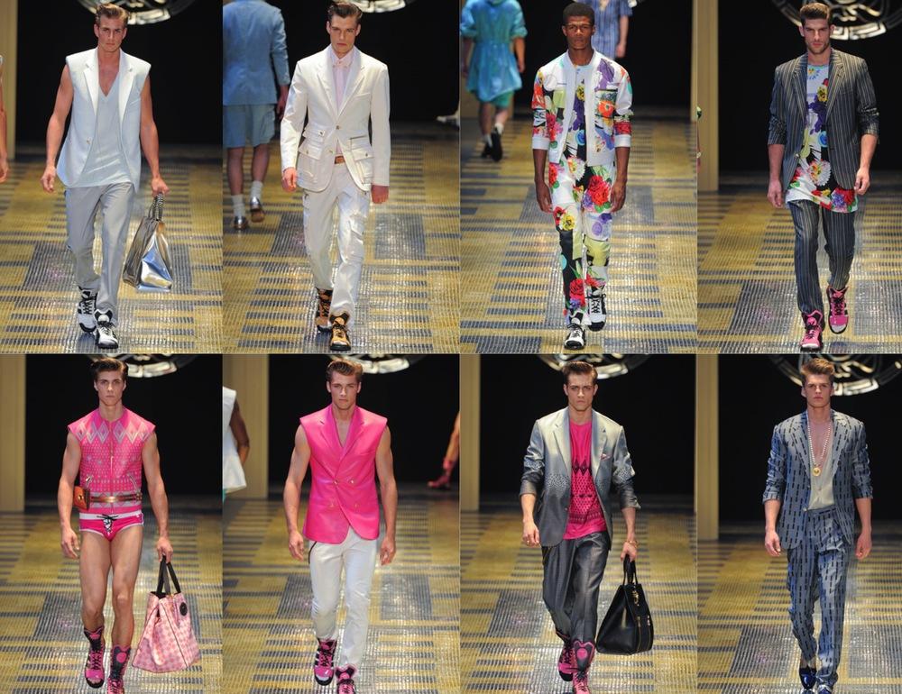 Versace Spring Summer 2013 Menswear