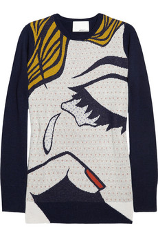 3.1 Phillip Lim The Break Up Wool Sweater