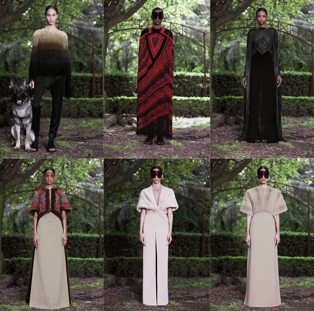 Givenchy Fall Winter 2012 Couture Collection