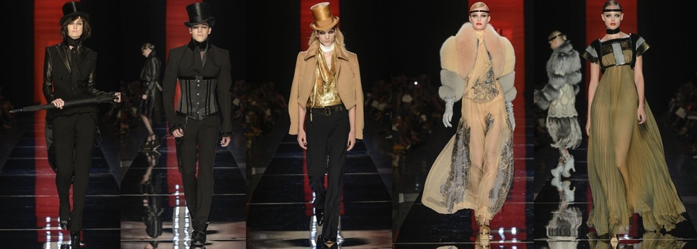 Jean Paul Gaultier FW2012 Couture Highlights
