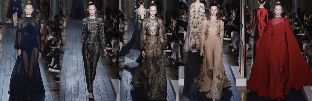 Valentino Fall Winter 2012 Couture Highlights