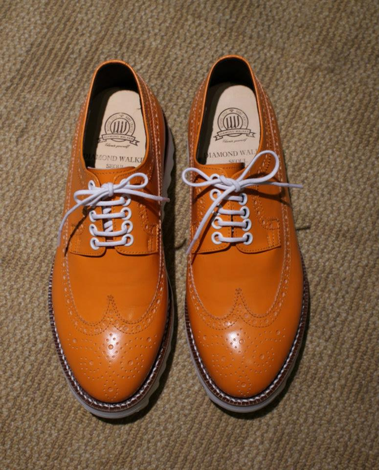 Diamond Walker Wingtip Brogues