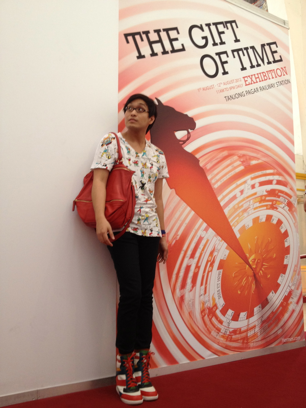 Hermes Gift of Time Exhibit