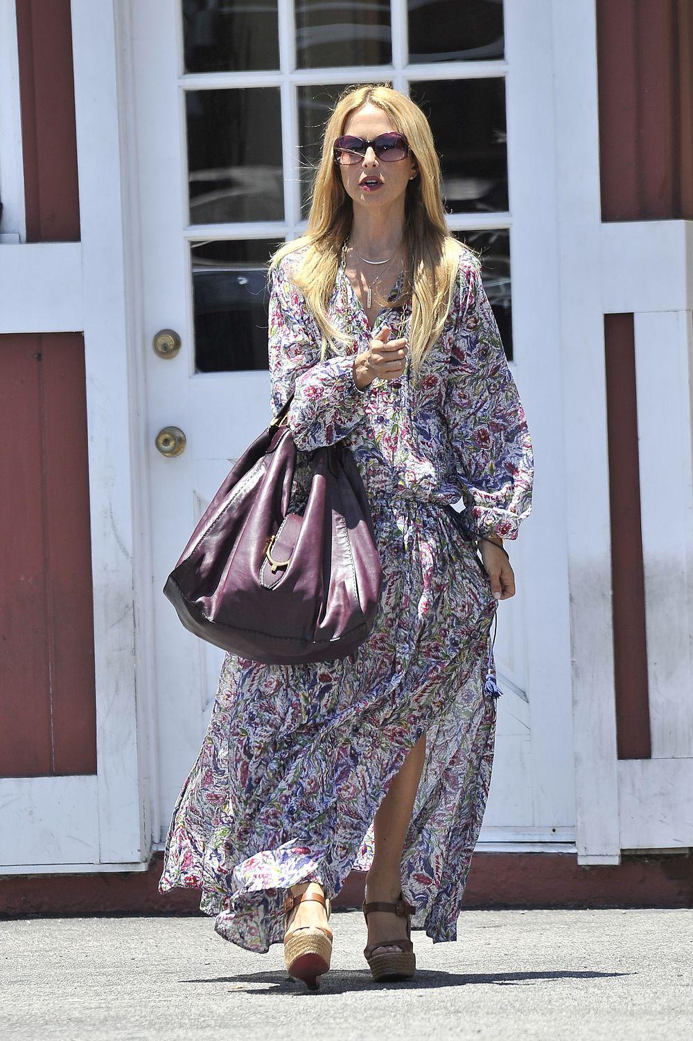 Rachel Zoe Carrying Gucci Soft Stirrup