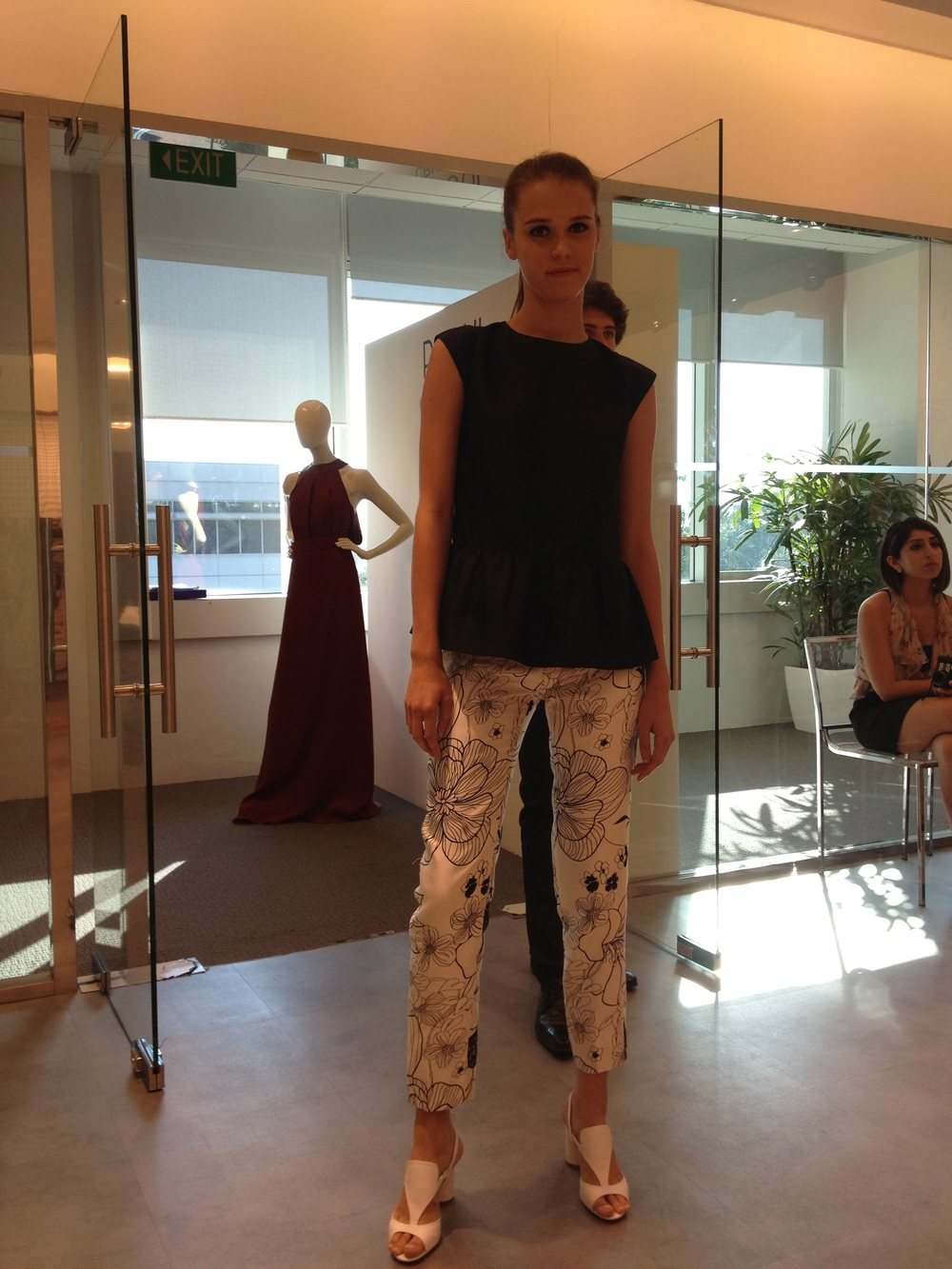 Raoul Cruise 2013 RTW Women's Wear Press Day
