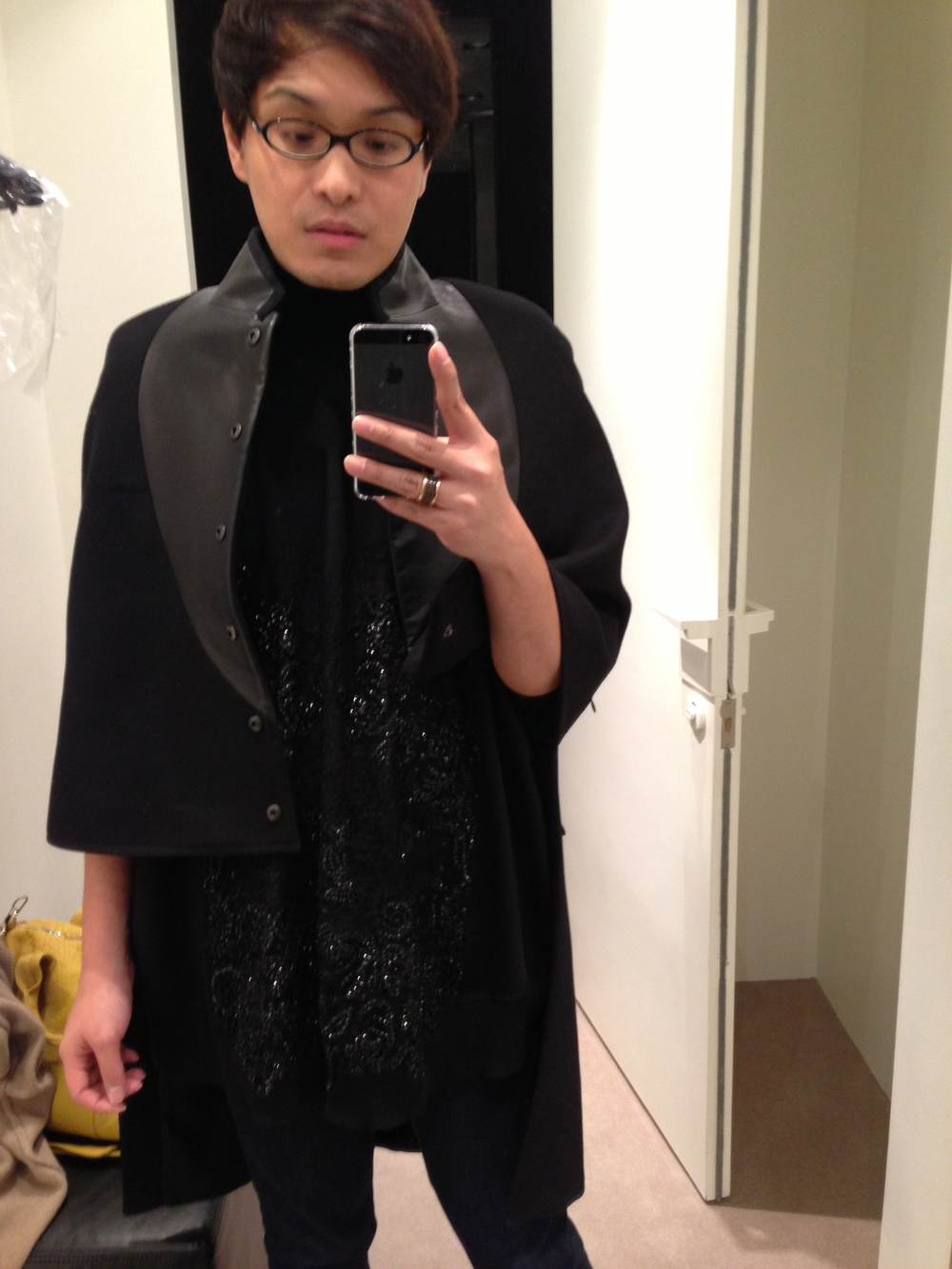 Givenchy FW12 Cape and Poncho