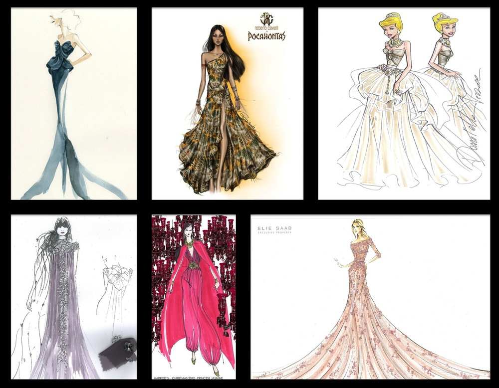 Harrods Designer Disney Princesses