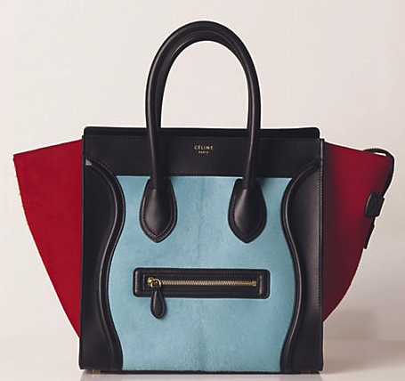 Celine Luggage Tote in Glacier