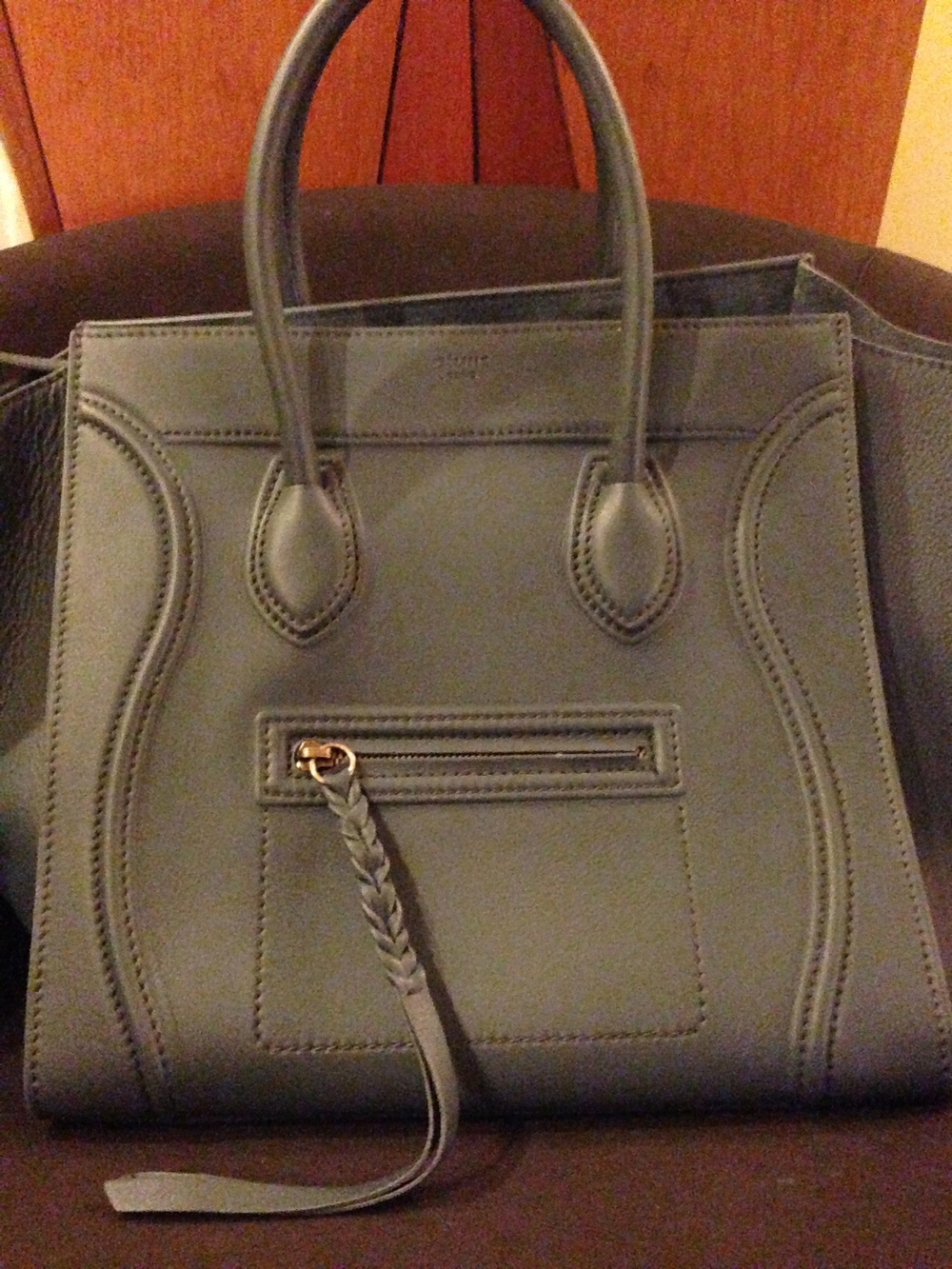 Celine Phantom in Slate Blue