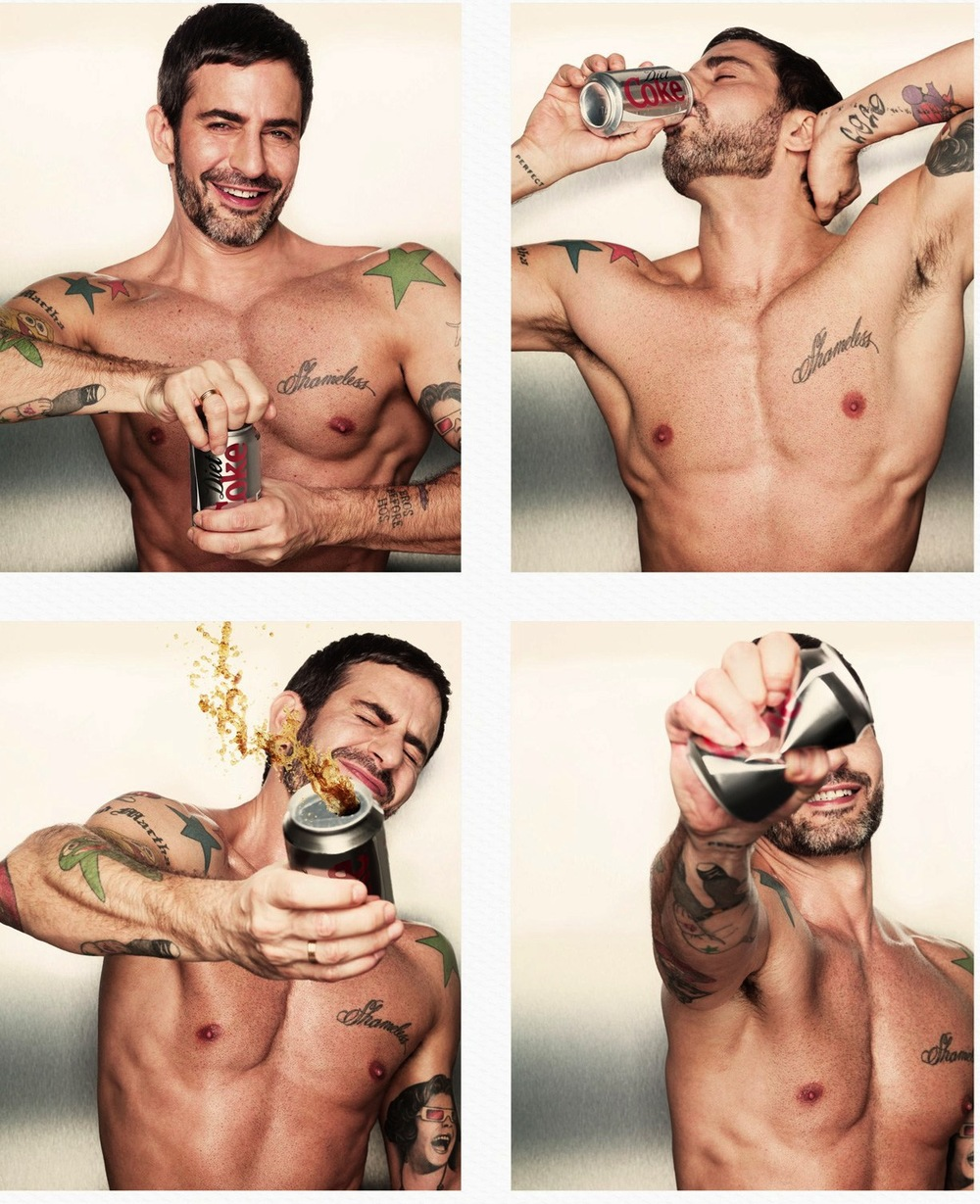 Marc Jacobs is Diet Coke's Latest Creative Director